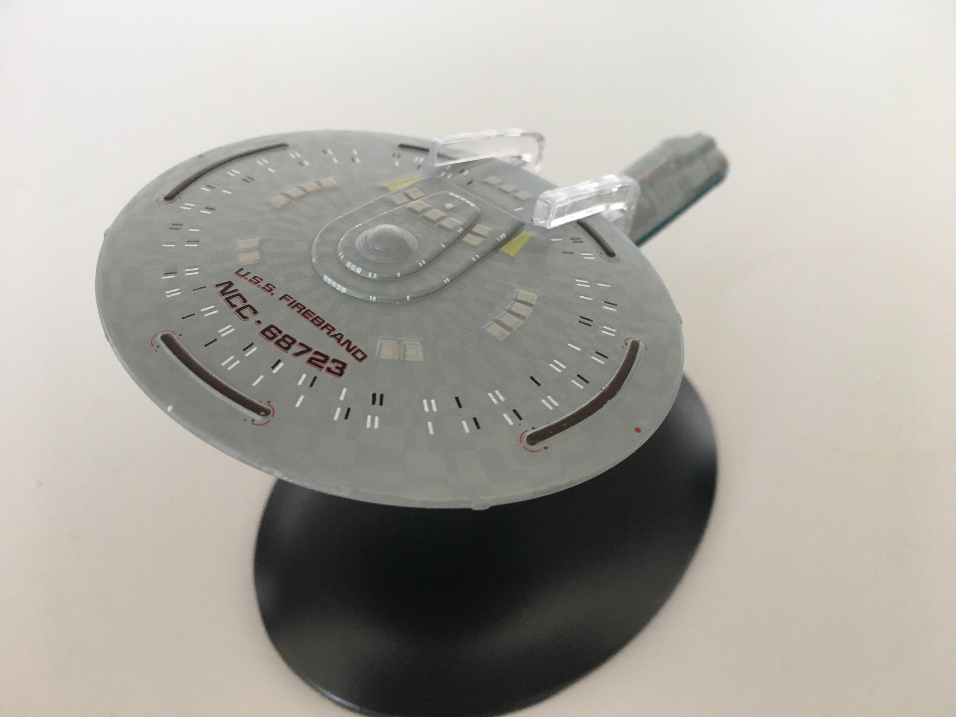 """Die USS Firebrand aus der Episode """"Angriffsziel Erde"""" (Foto: StarTrek-HD)"""