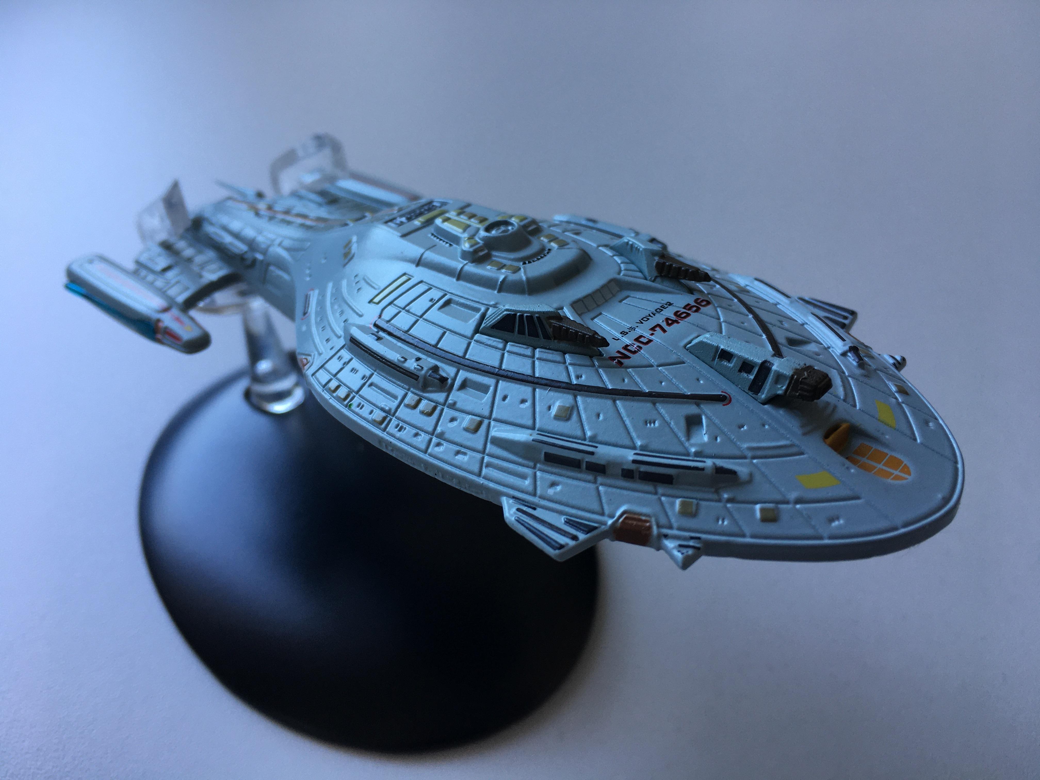 """Das Kriegsschiff Voyager aus der Episode """"Der Zeitzeuge"""" (Foto: Star Trek HD)"""