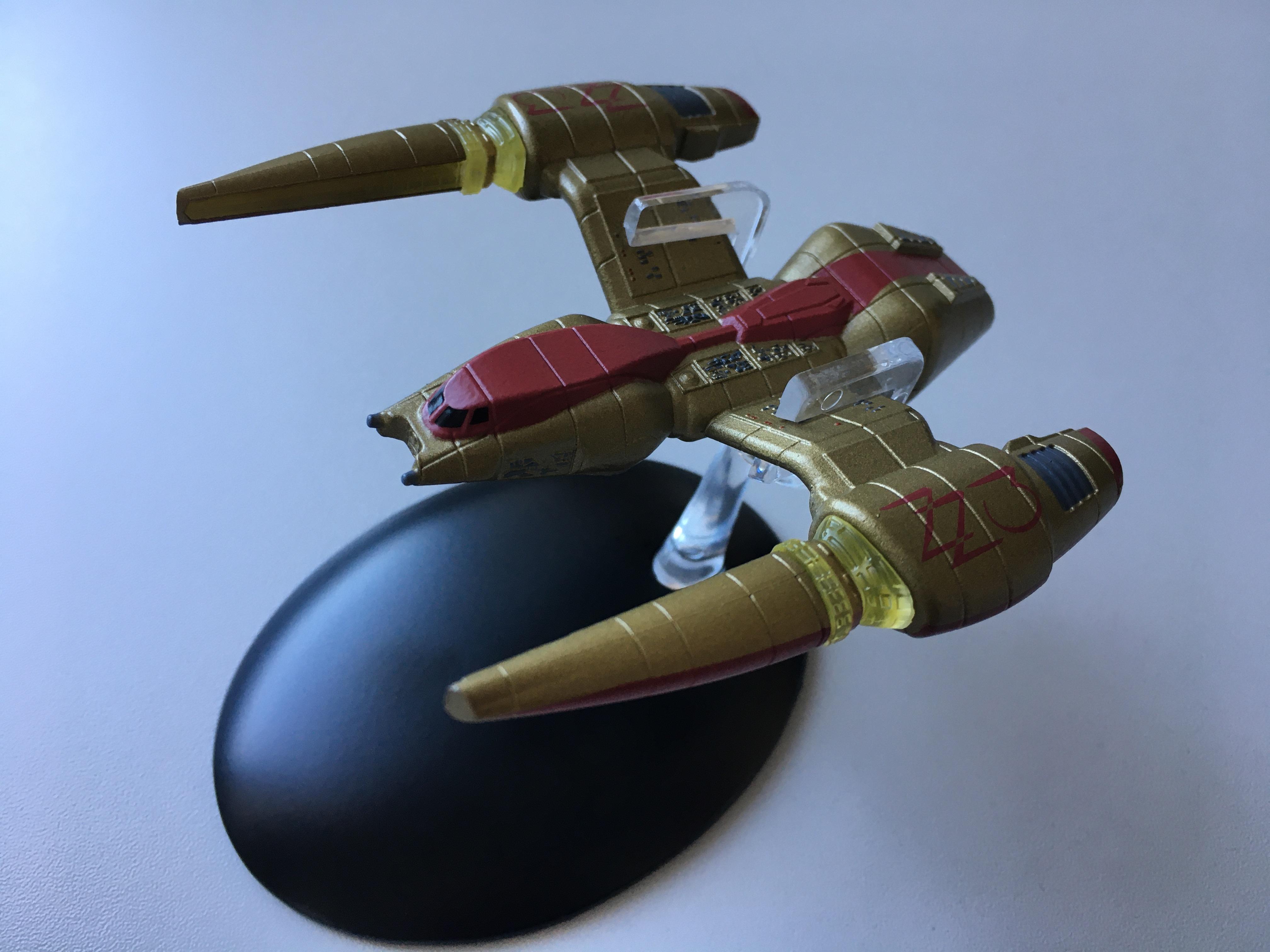 """Irinas Schiff aus """"Das Rennen"""" (Foto: Star Trek HD)"""