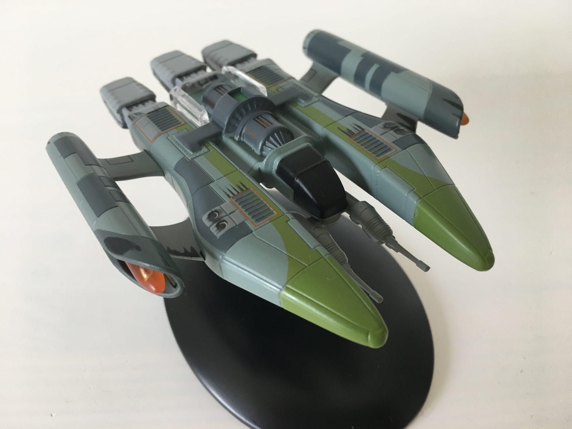 Das Kampfschiff der Vaadwaur (Foto: Star Trek HD)