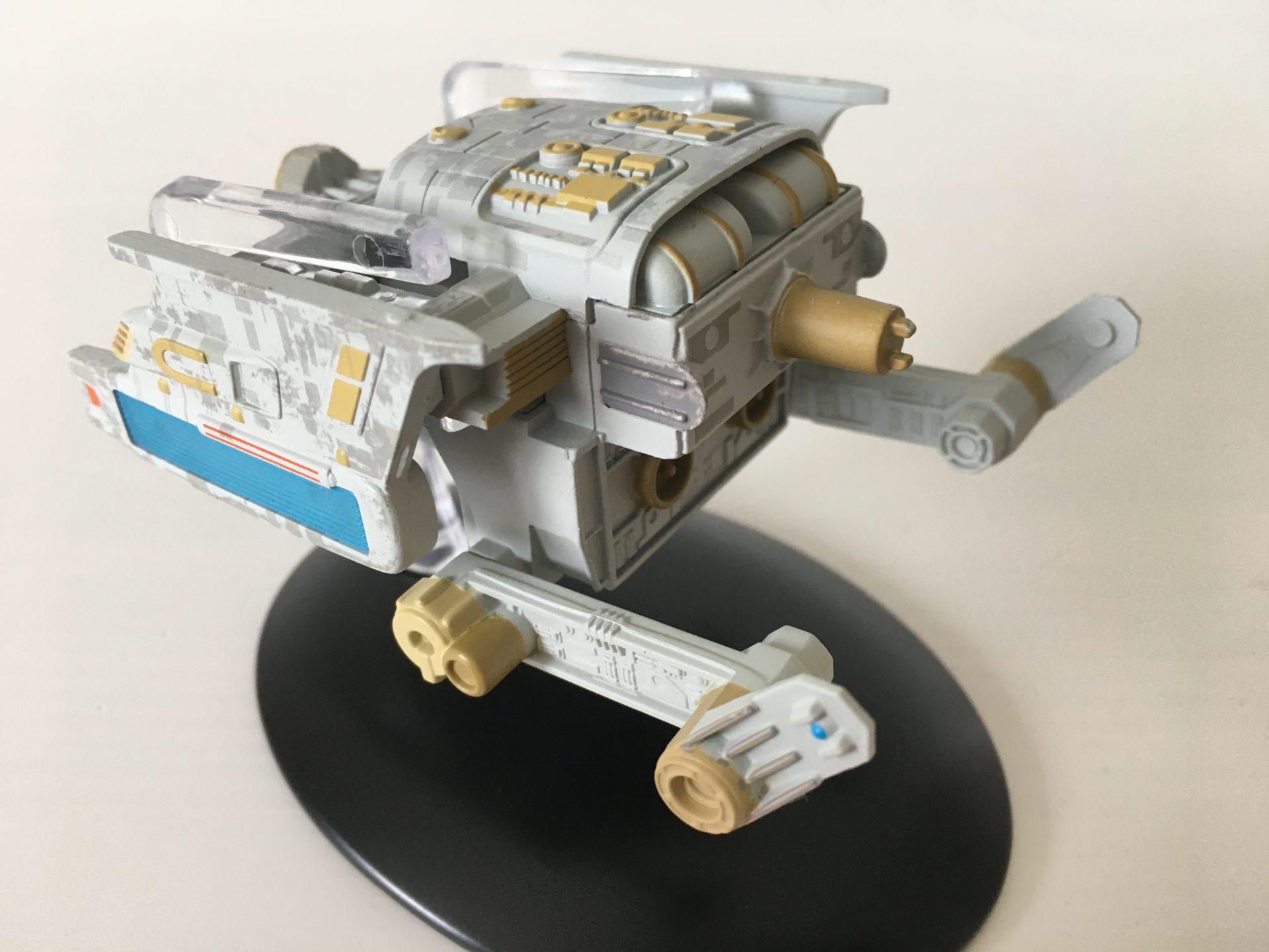 Schleppschiff der Föderation (Foto: Star Trek HD)