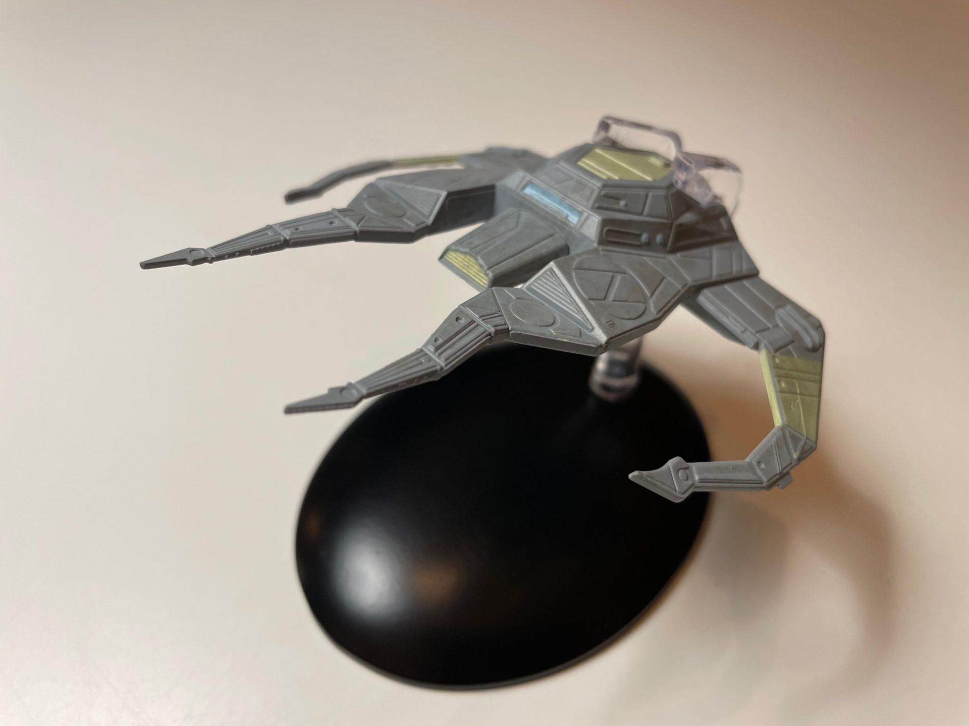 Barans Schiff von Eaglemoss Collections (Foto: Star Trek HD)