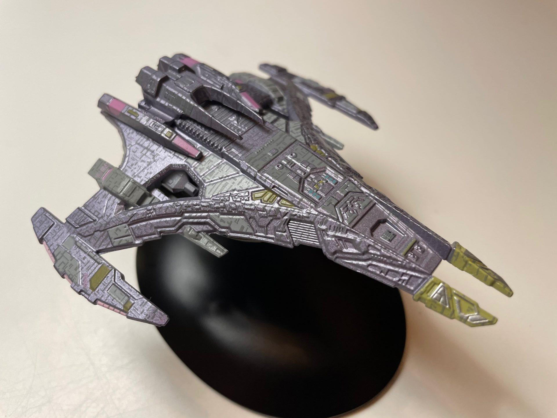 Jem'Hadar Schlachtschiff von Eaglemoss Collections (Foto: Star Trek HD)