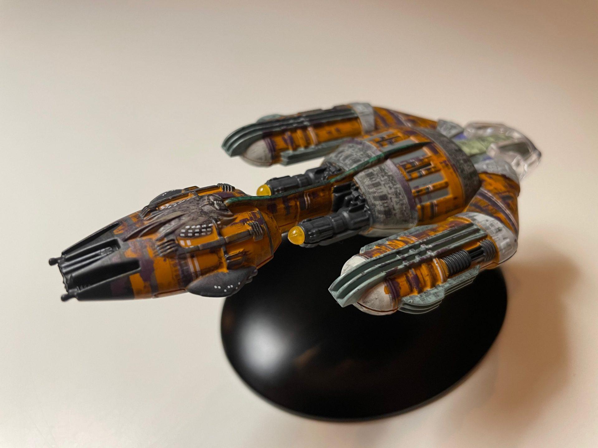 Krenim Kriegsschiff von Eaglemoss Collections (Foto: Star Trek HD)