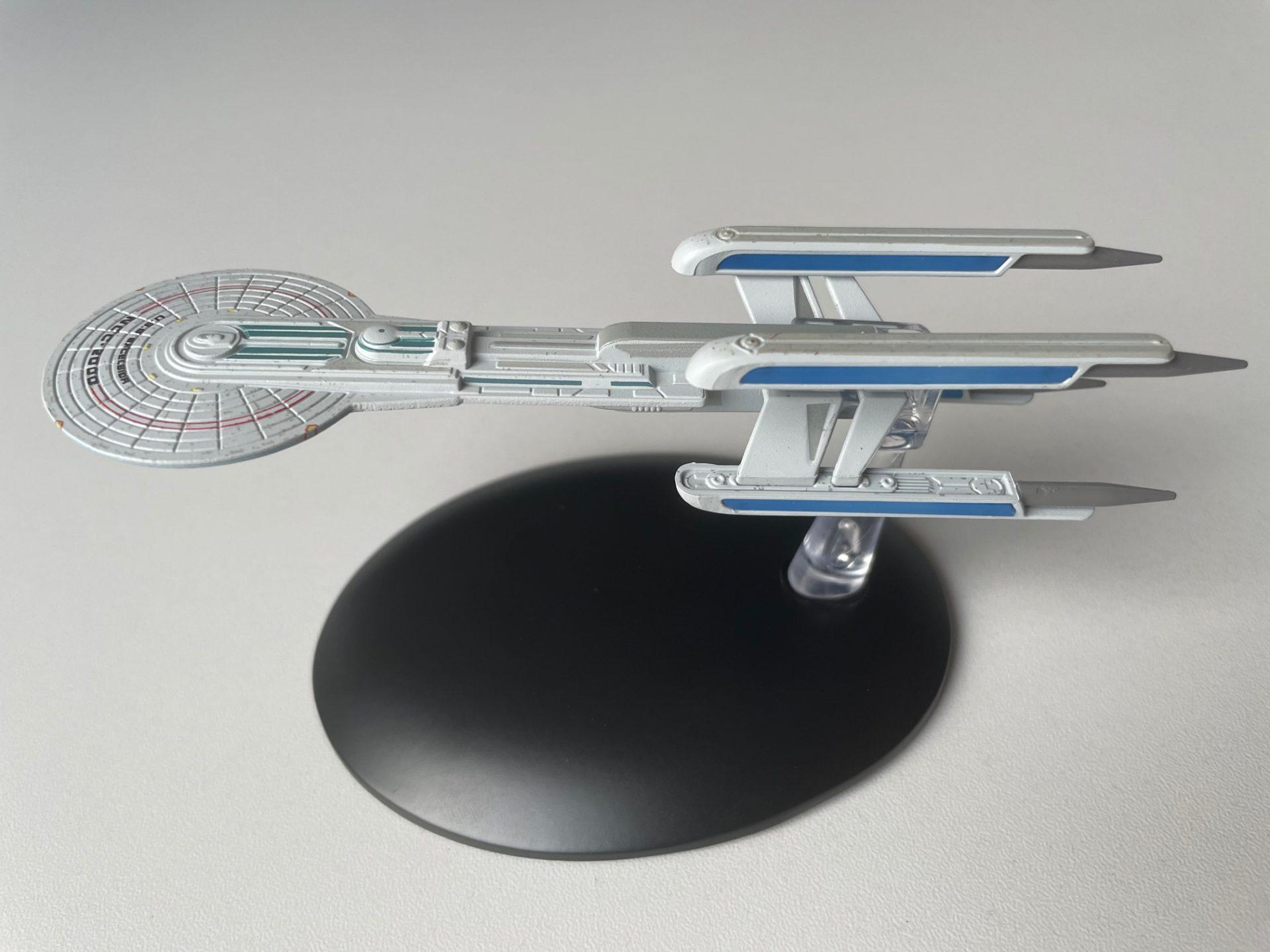 Nilo Rodis Konzeptmodell 1 für die USS Excelsior