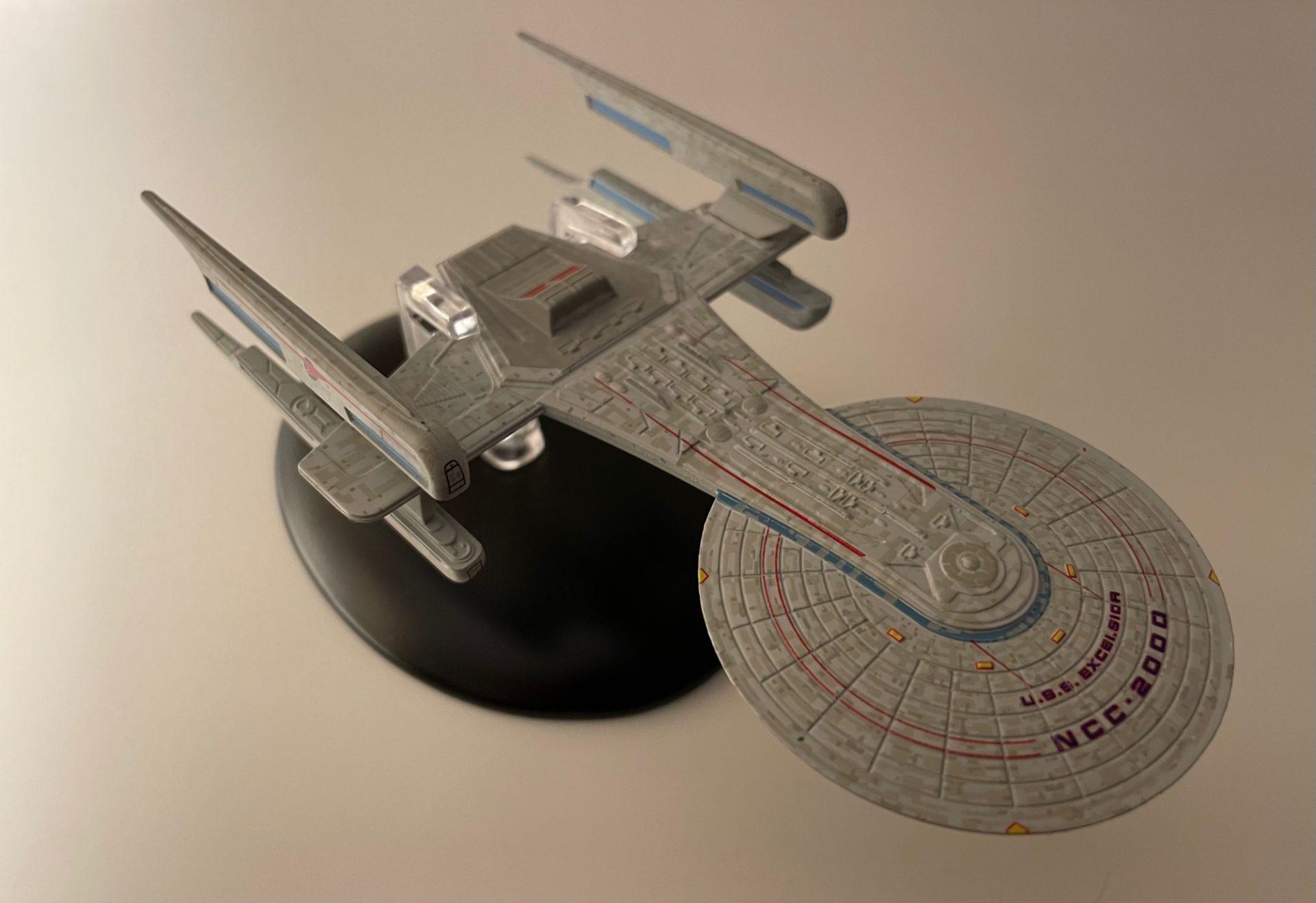 Nilo Rodis Konzeptmodell 2 für die USS Excelsior