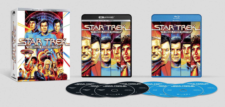 Die neuen remasterten Fassungen sind als 4k Ultra-HD Blu-ray und als Standard-Blu-ray erhältlich (Foto: Paramount Home Entertainment)